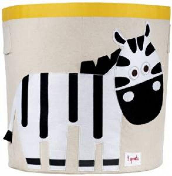 3 sprouts - Aufbewahrungskorb Zebra