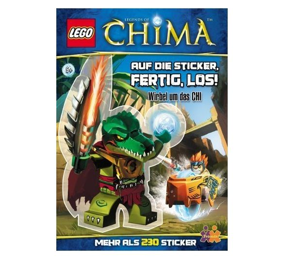 LEGO® Legends of Chima - Auf die Sticker. fertig los!