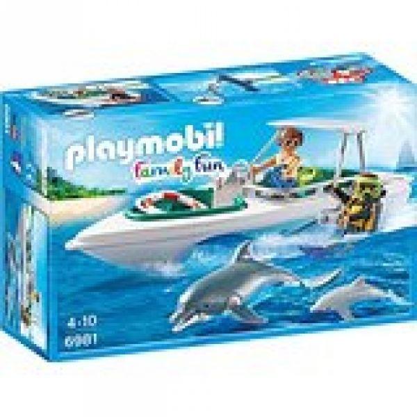 PLAYMOBIL® 6981 - Tauchausflug mit Sportboot
