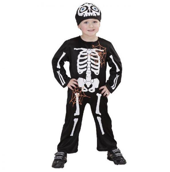 Kinderkostüm Skelett Boy - Grösse 104
