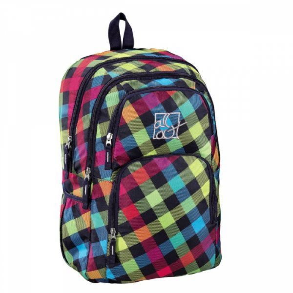 HAMA - All Out Rucksack Kilkenny, Rainbow Check