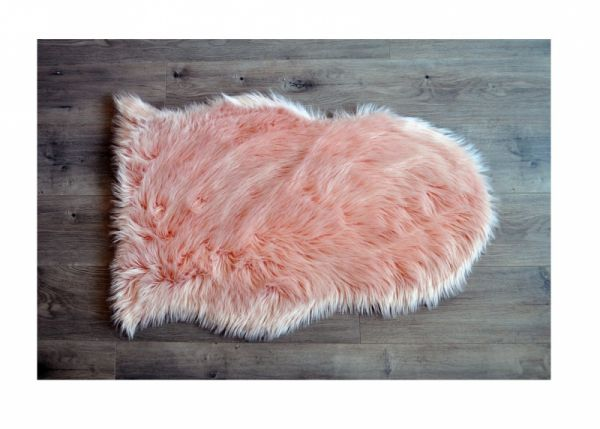 Kroma Carpets - Kunstlammfell Pelt pfirsich