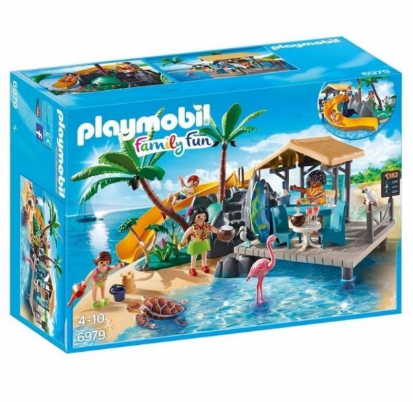 PLAYMOBIL® 6979 - Karibikinsel mit Strandbar