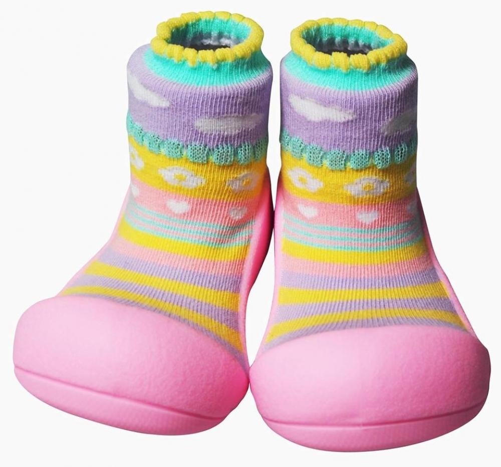 Attipas 50 Attibebe Pink Babyschuhe Kind Baby Fashion Nordic Brown Vorschau