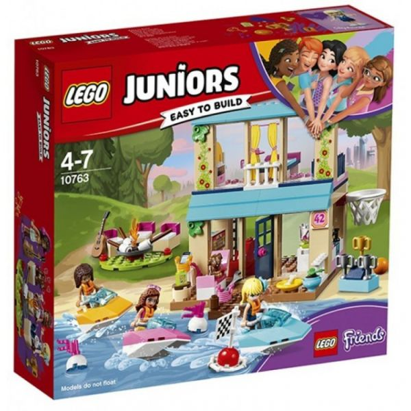 LEGO® Juniors 10763 - Stephanies Hütte am See