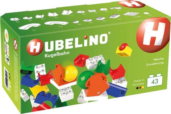 Hubelino - Kugelbahn 43-teilige Weichen Ergänzung