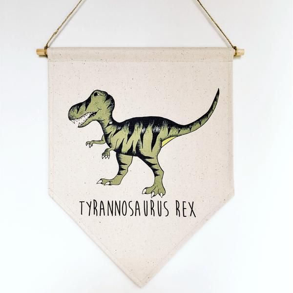 Dino Raw - Dino Banner T- Rex