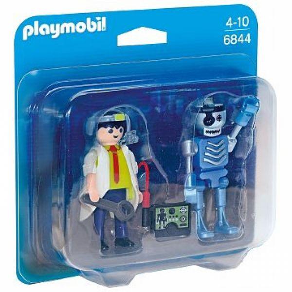 PLAYMOBIL® 6844 - Duo Pack Professor und Roboter