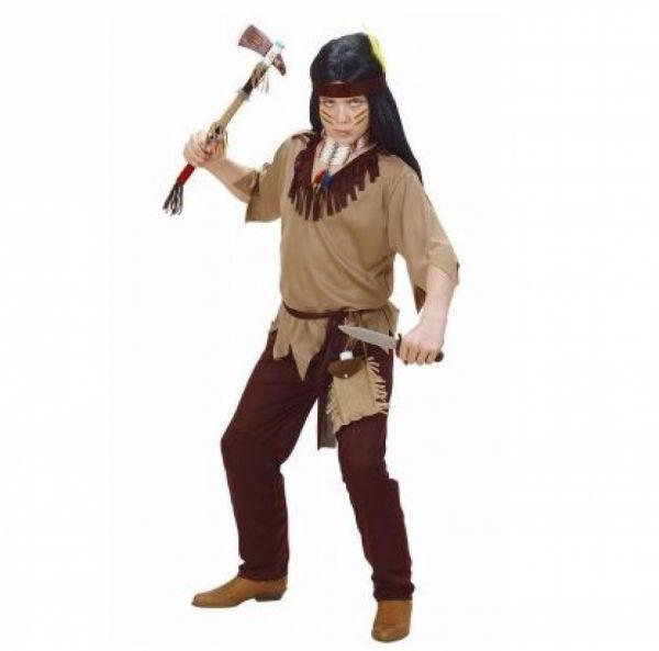 Kinderkostüm - Indianer, Größe 128