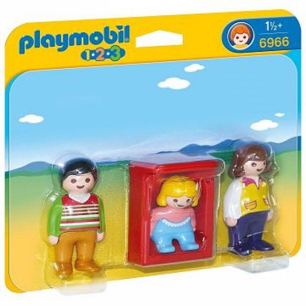 PLAYMOBIL® 6966 - Eltern mit Babywiege