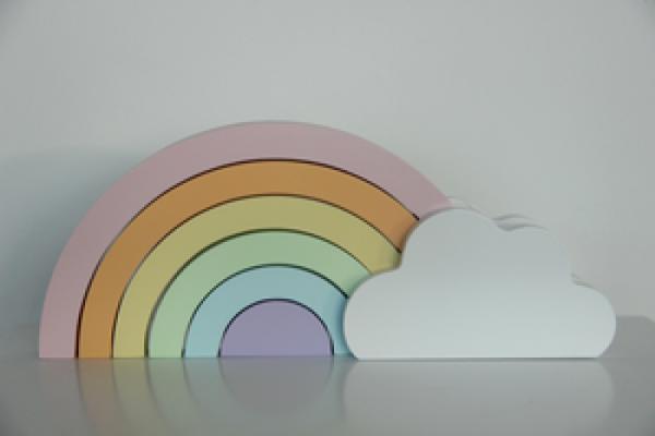 Pixistuff - Pastell Regenbogen