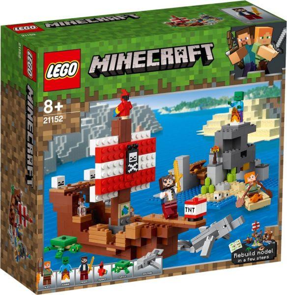LEGO® Minecraft 21152 - Das Piratenschiff-Abenteuer
