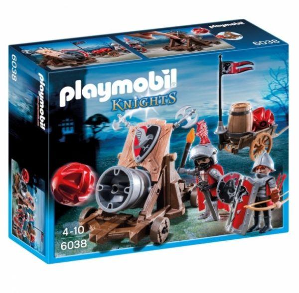 PLAYMOBIL® 6038 - Riesenkanone der Falkenritter