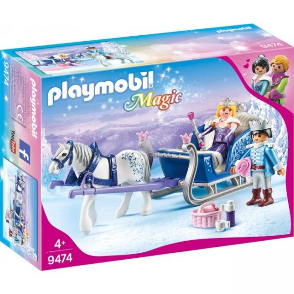 PLAYMOBIL® 9474 - Schlitten mit Königspaar