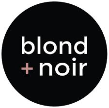blond + noir