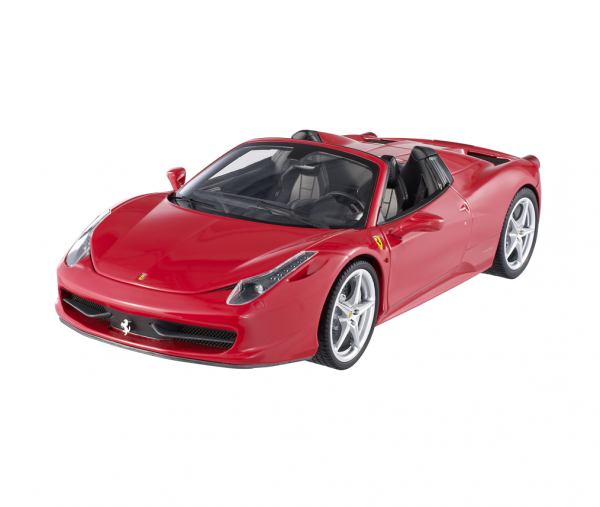 Hot Wheels - Ferrari 458 Italia Spider 2011 rot, 1:18