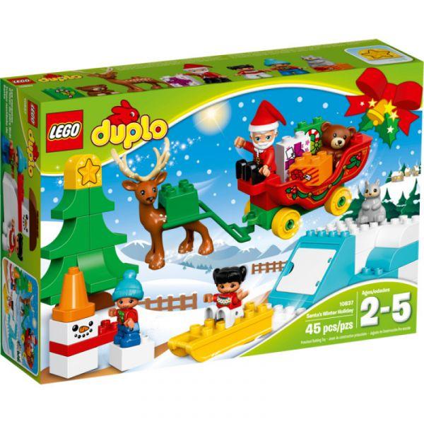 LEGO® Duplo 10837 - Winterspaß mit dem Weihnachtsmann