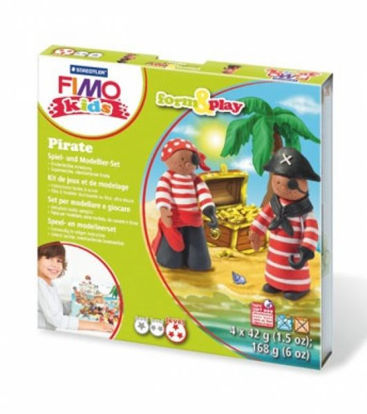 Staedtler - Fimo Kids Form & Play Set Piraten