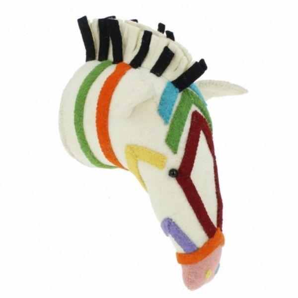 Fiona Walker - Rainbow Safari Zebra bunt