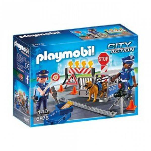 PLAYMOBIL® 6978 - Polizei-Straßensperre