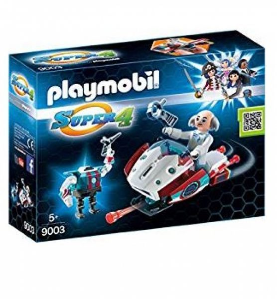 PLAYMOBIL® 9003 - Skyjet mit Dr X und Roboter