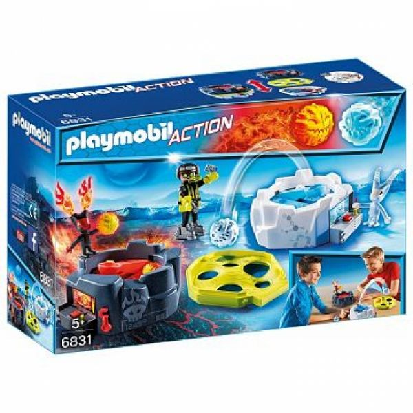 PLAYMOBIL® 6831 - Fire & Ice Action Game