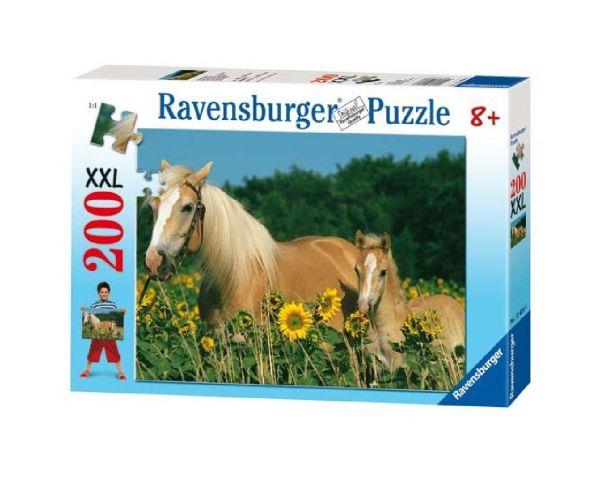 Ravensburger Puzzle 200 Teile - Pferdeglück