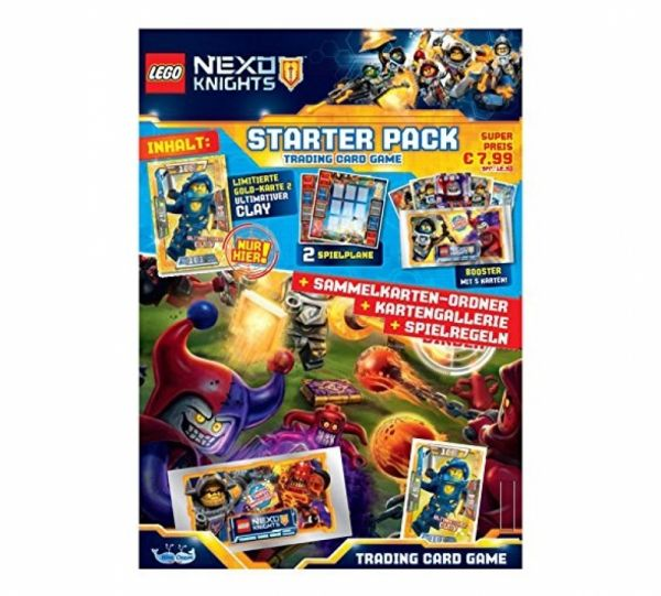 LEGO® NEXO KNIGHTS™- Trading Cards Starter-Pack