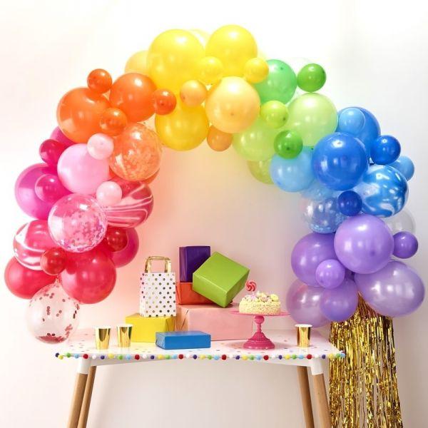 Ginger Ray - Ballon Arch Regenbogen