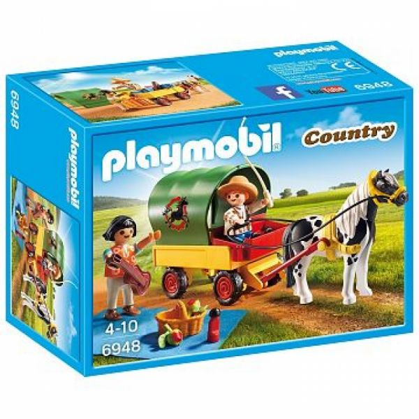 PLAYMOBIL® 6948 - Ausflug mit Ponywagen