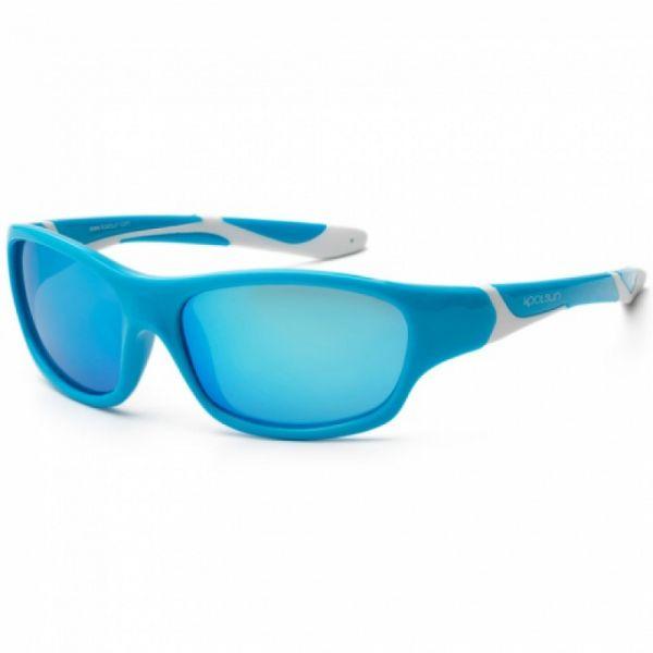 Koolsun - Kindersonnenbrille Sport Aqua white