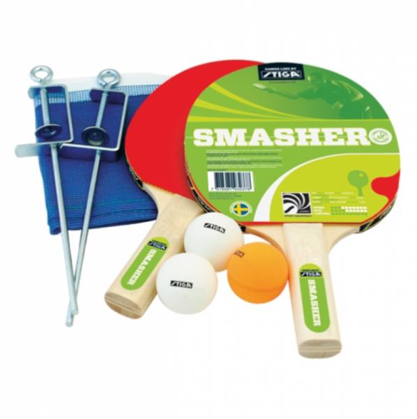 Stiga - Tischtennis Set Smasher