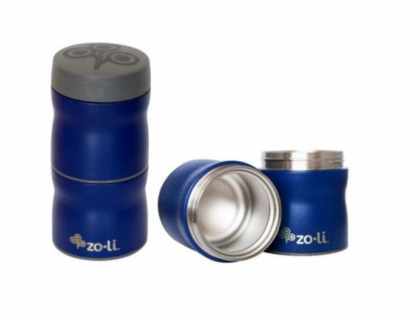 ZoLi - Pow This & That Thermo Food Container stapelbar navy