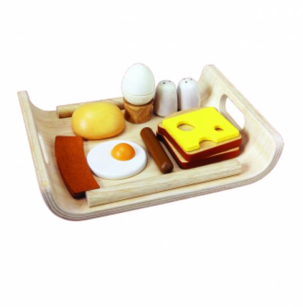 PLANTOYS - Frühstücksmenü auf Tablett