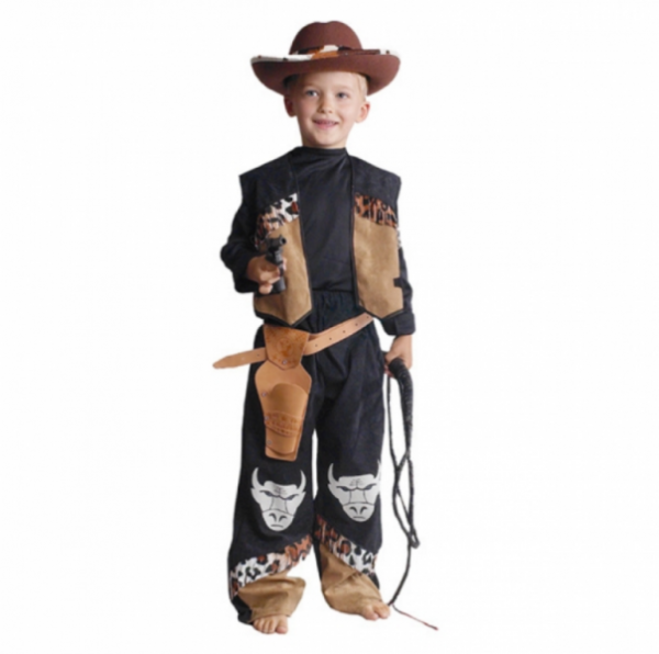 Kinderkostüm - Cowboy Buffalo, Größe 140