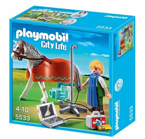 PLAYMOBIL® 5533 - Röntgentierarzt mit Appaloosa