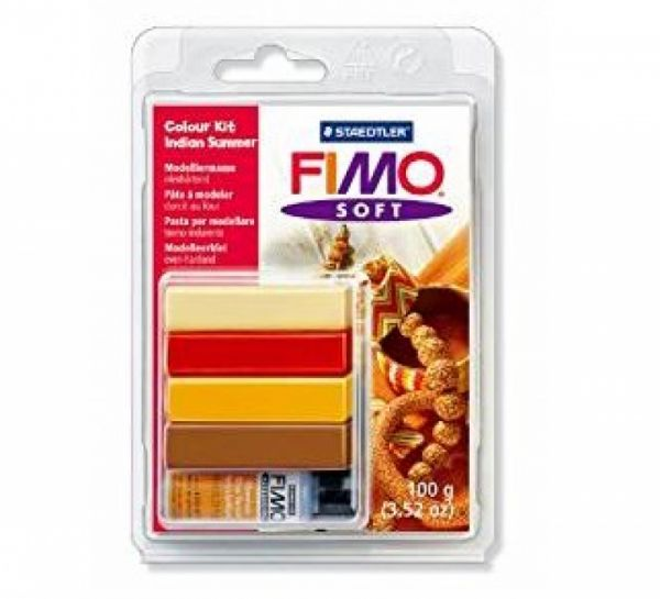Staedtler - Fimo Soft Set Indian Sumer