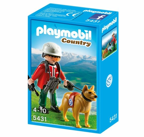 PLAYMOBIL® 5431 - Bergretter mit Suchhund