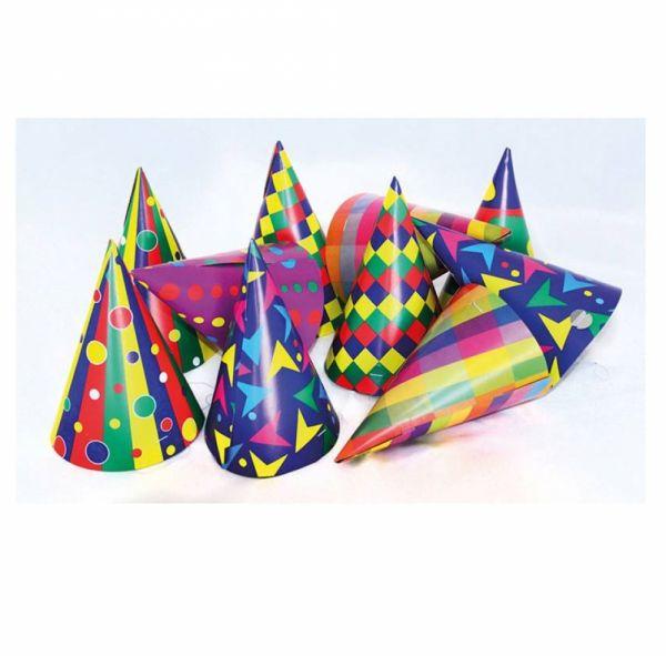 Partyhüte Multicolor