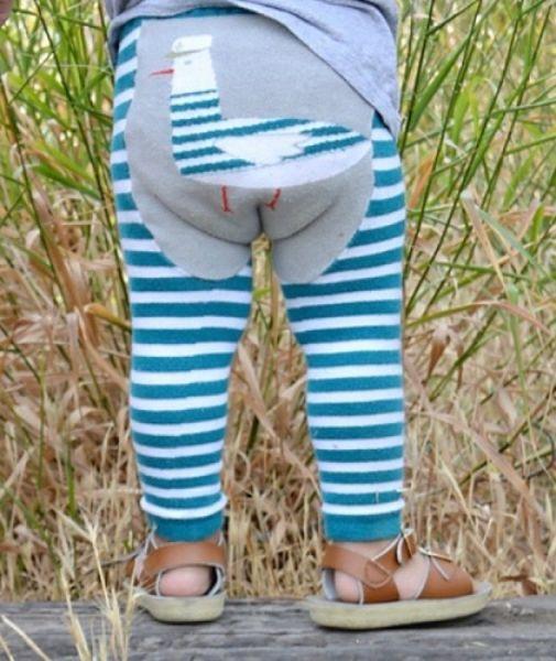 Doodle Pants - Captain Feather Leggings