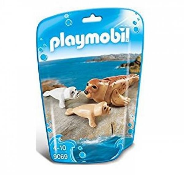 PLAYMOBIL® 9069 - Robbe mit Babys