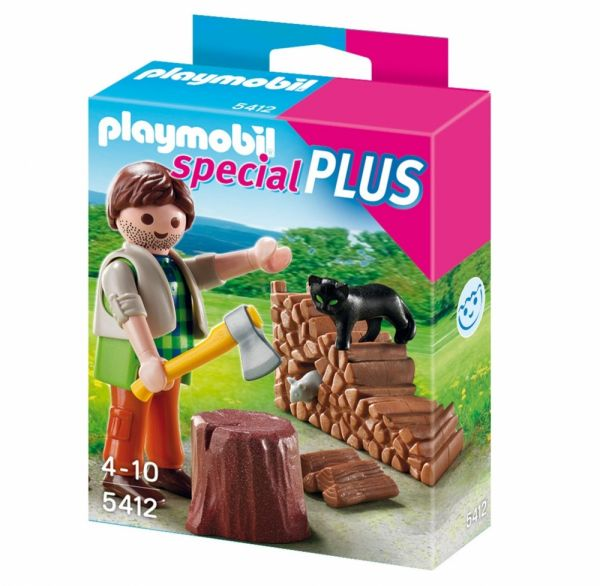 PLAYMOBIL® 5412 - Holzhacker