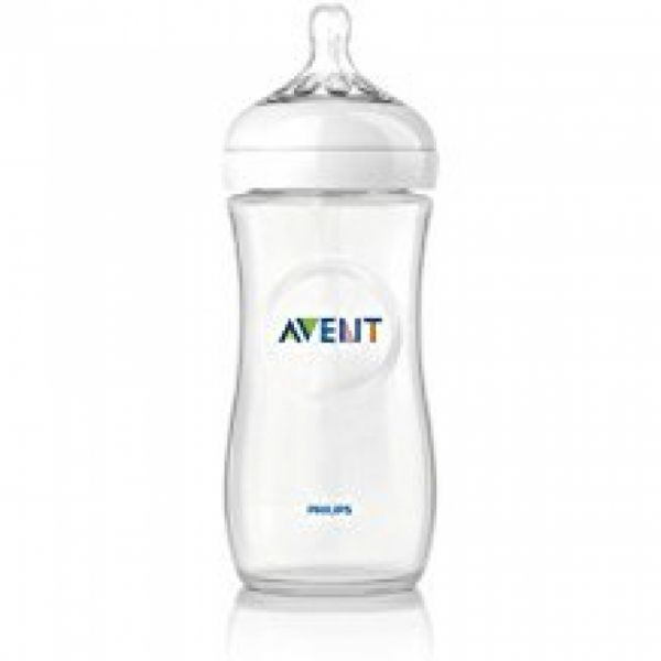 Philips Avent - Naturnah-Flasche 125ml, 2er-Pack, transparent