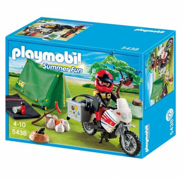 PLAYMOBIL® 5438 - Motorrad-Camper