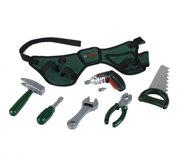 Theo Klein - BOSCH Werkzeuggürtel mit Akkuschrauber Ixolino