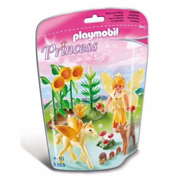PLAYMOBIL® 5353 - Waldfee mit Pegasusbaby 'Goldstaub'