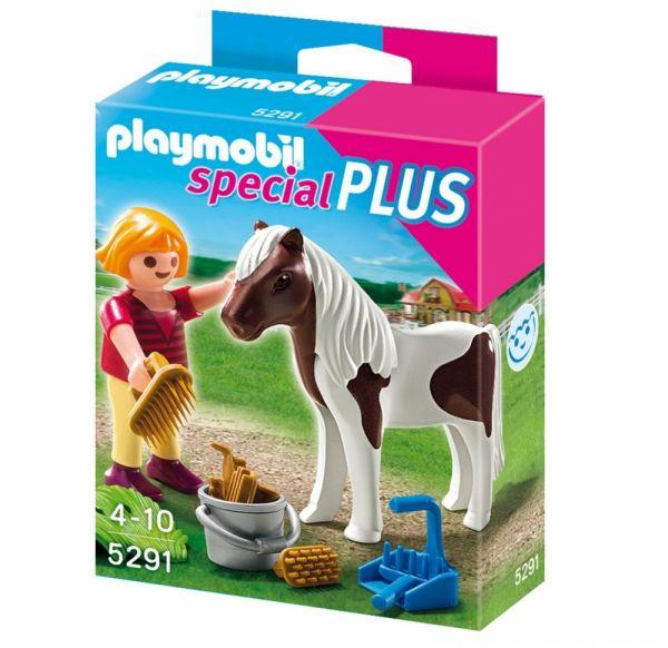 PLAYMOBIL® 5291 - Mädchen beim Pony