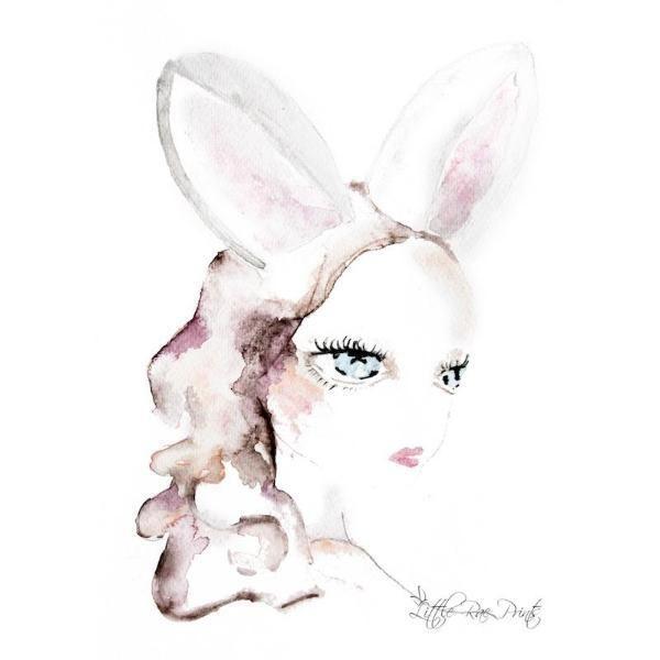 Little Rae Prints - Poster Ruby Ears
