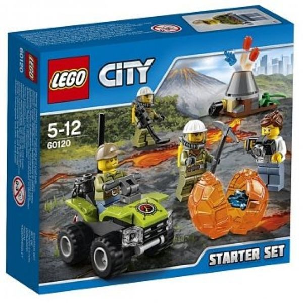 LEGO® City 60120 - Vulkan Starter-Set