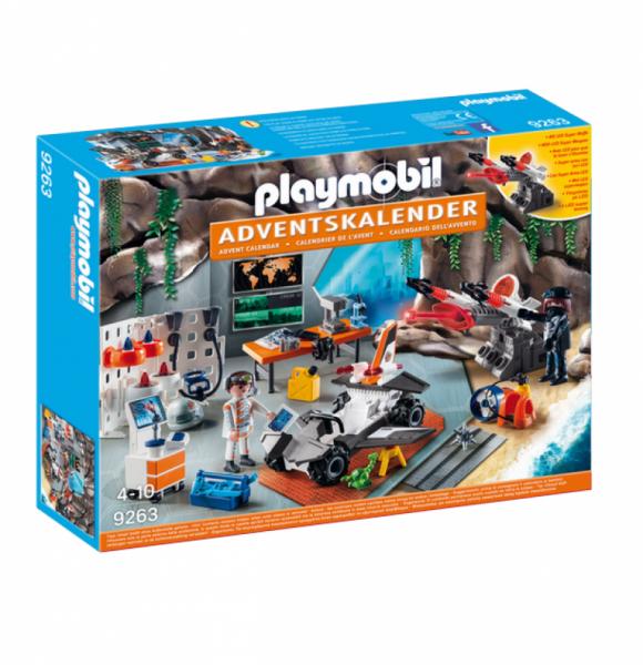 "PLAYMOBIL® 9263 - Adventskalender ""Spy Team Werkstatt"""